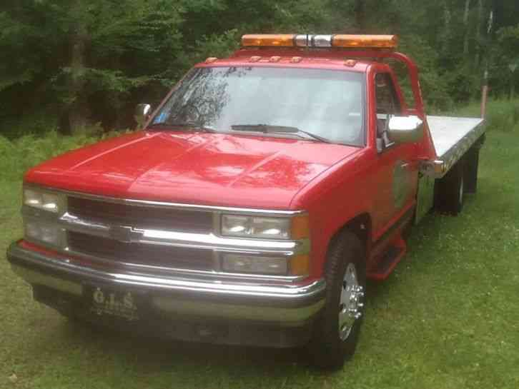 Flatbed Tow Truck >> Chevrolet. Chevy C3500 (1993) : Flatbeds & Rollbacks