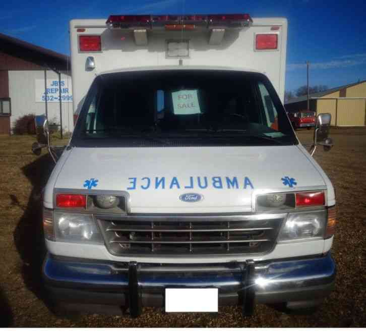 1984 ford e350 ambulance for sale