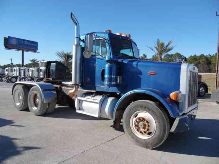Tri Axle Cabover : Kenworth w b daycab semi trucks