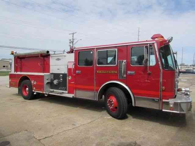 Spartan c01 1993 emergency fire trucks for Motor city towing detroit