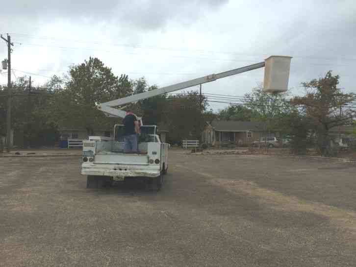 Gmc Sierra C3500  1994    Bucket    Boom Trucks