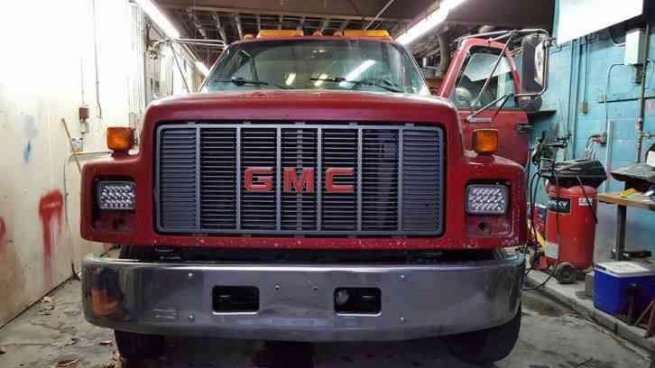 Used Dump Trucks >> GMC TOPKICK (1994) : Flatbeds & Rollbacks