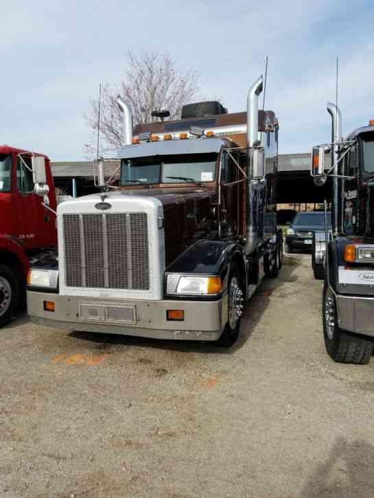 Utility Truck Beds For Sale >> Peterbilt 377 (1994) : Sleeper Semi Trucks