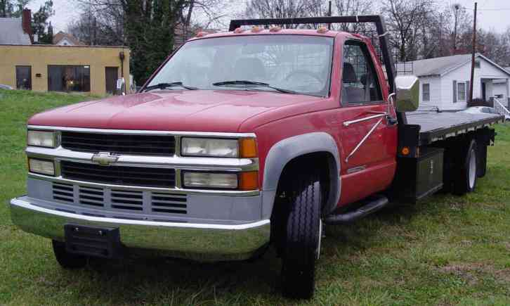 Chevrolet 3500hd 1995 Flatbeds Amp Rollbacks