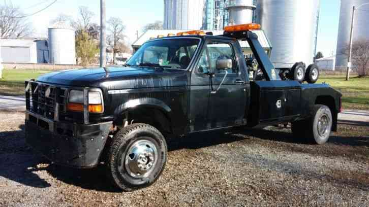 Ford F350 Towing Capacity >> Ford F350 (1995) : Wreckers