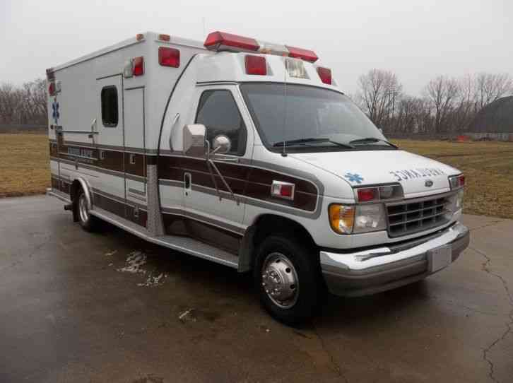 ford ford e 350 1995 emergency fire trucks. Black Bedroom Furniture Sets. Home Design Ideas