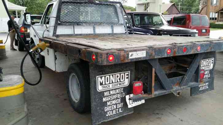 Heavy Tow Truck For Sale >> Ford F350 Stake Body (1995) : Commercial Pickups