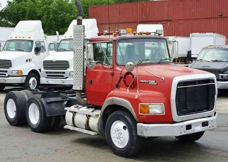 ford l9000 1995 daycab semi trucks rh jingletruck com L9000 Surge Tank Ford Aeromax L9000