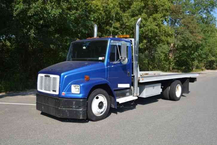 Flatbed Tow Truck >> Freightliner Flatbed Rollback Tow Truck 1995 Flatbeds