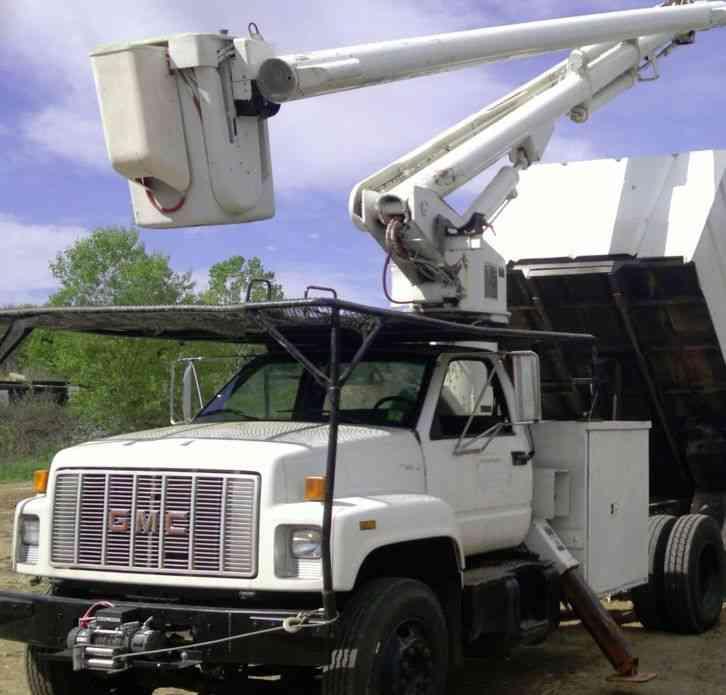 Gmc Topkick 1995 Bucket Boom Trucks