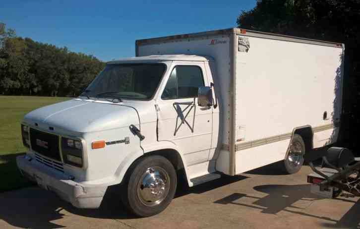Gmc Vandura Hd 3500 1995 Van Box Trucks
