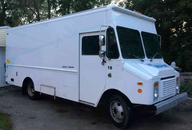 Diesel Truck For Sale >> Chevrolet Grumman Olson (1995) : Van / Box Trucks