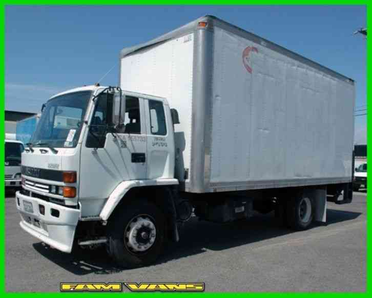Isuzu Ftr  1995    Van    Box Trucks