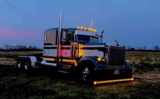 Peterbilt 379 Extended Hood 1995 Sleeper Semi Trucks