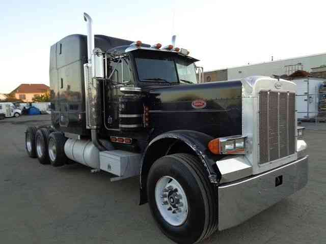 Detroit Diesel Series 60 >> PETERBILT 379 TRI AXLE HEAVY HAULER TRUCK (1995) : Sleeper ...