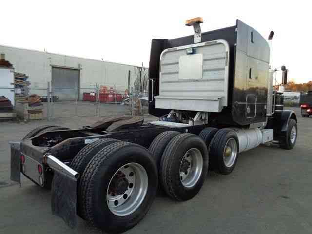 Peterbilt 379 Tri Axle Heavy Hauler Truck 1995 Sleeper