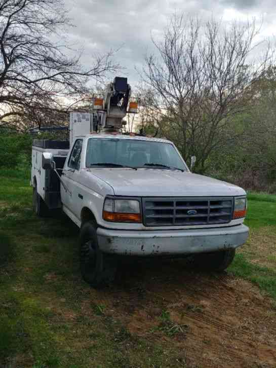 Ford Bucket truck (1996)