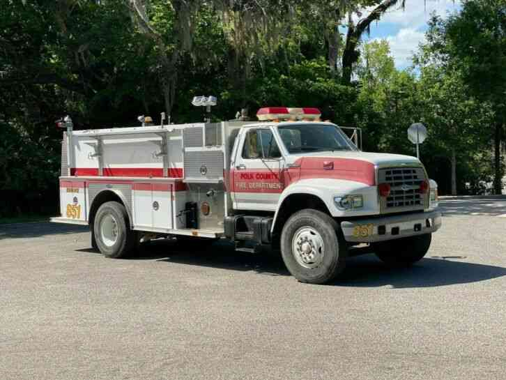 Ford F-800 E-ONE Pumper Fire Truck (1996)