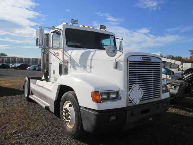 Fld 120 Freightliner Semi Truck : Freightliner fld  daycab semi trucks