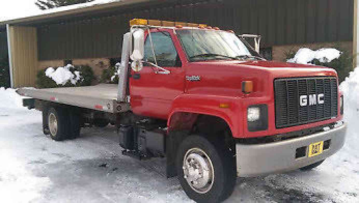 topkick size new in sale sold window dump full item august truck c gmc for auction