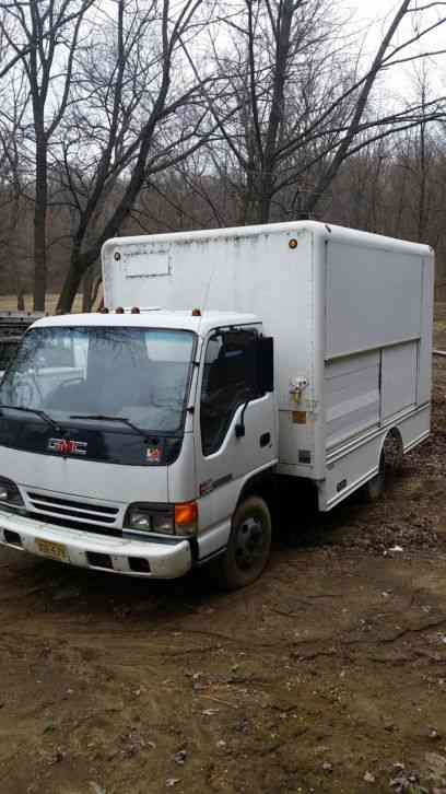 Truck Utility Box >> Gmc Utility Box Truck 1996