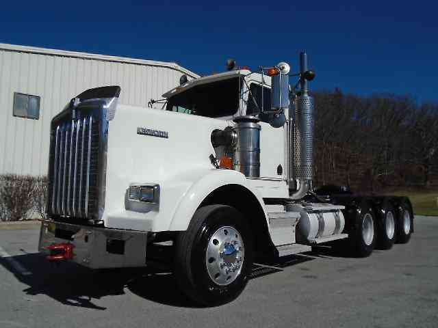 Heavy Truck Axles : Kenworth t b daycab semi trucks