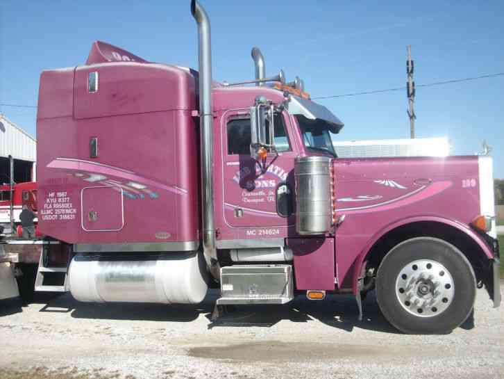 Peterbilt 379 1989 Sleeper Semi Trucks