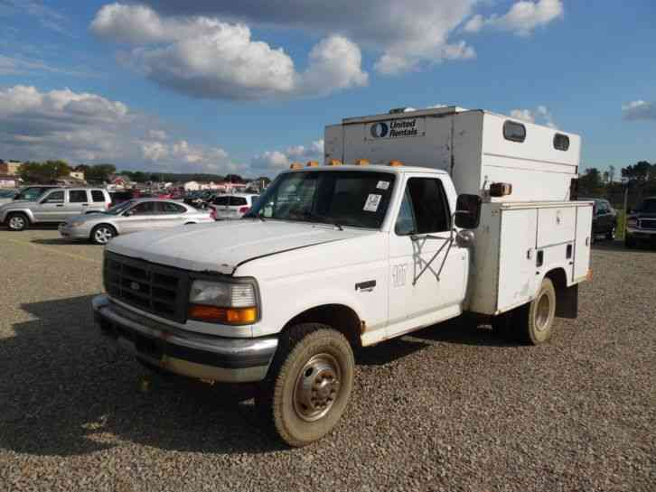 Ford F Superduty   Powerstroke Service Tool Truck