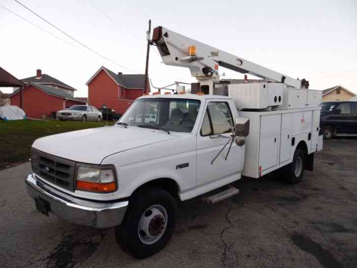 Ford F-SUPER DUTY SERVICE BUCKET TRUCK TELSTA BOOM (1997)