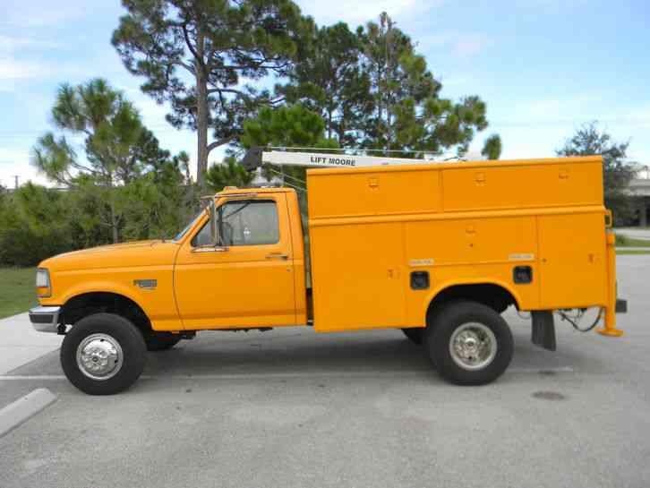 Reading Utility Body >> Ford F350 XL (1997) : Utility / Service Trucks
