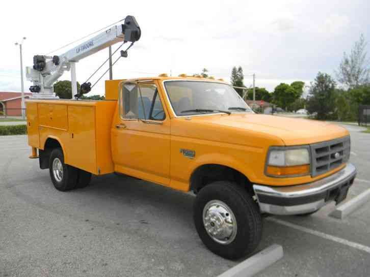 Reading Utility Body >> Ford F350 XL (1997) : Utility / Service Trucks