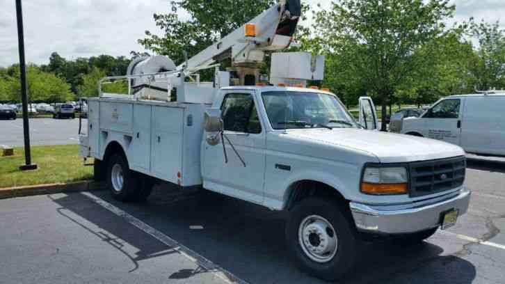 Nj Vehicle Inspection >> Ford F450 Super Duty (1997) : Utility / Service Trucks