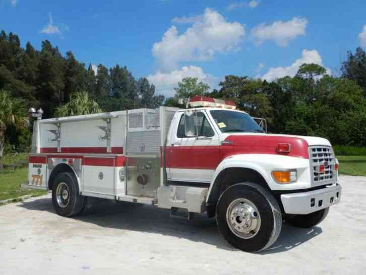 Ford F800 Pumper Fire Truck (1997)