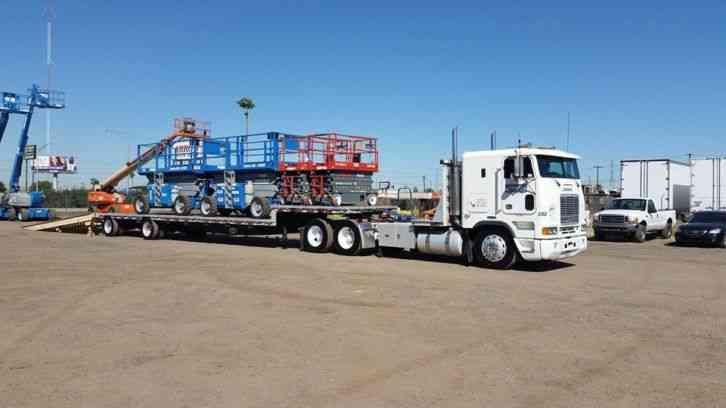 Freightliner Flb 1997 Sleeper Semi Trucks