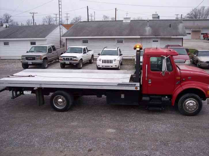International further Intl Tow Rolbak moreover International Rollback Flatbed Wrecker Car Carrier Tow Truck Wheel Lift additionally Chevy Hd Car Hauler Tow Truck Wedge Bed Rollback moreover International Rollback Tow Truck C. on international 4700 rollback truck