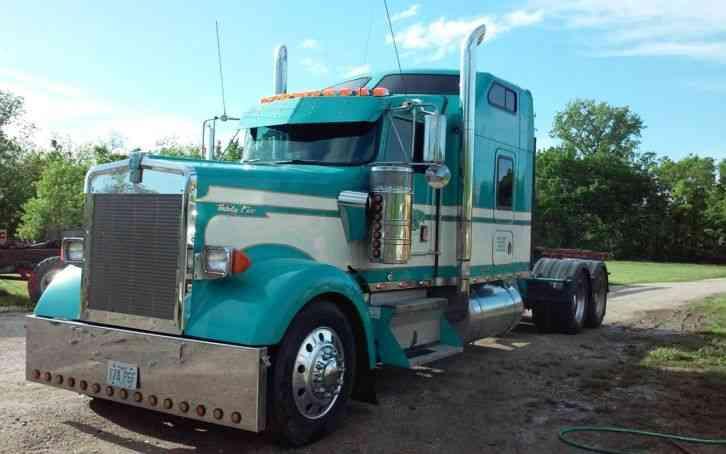 Kenworth (1997) : Sleeper Semi Trucks