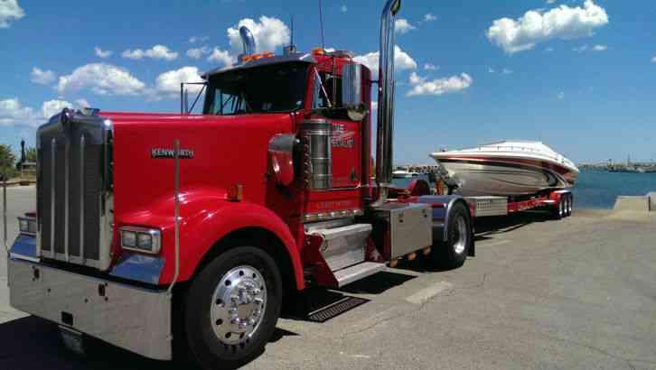 Kenworth W 900 1997 Daycab Semi Trucks