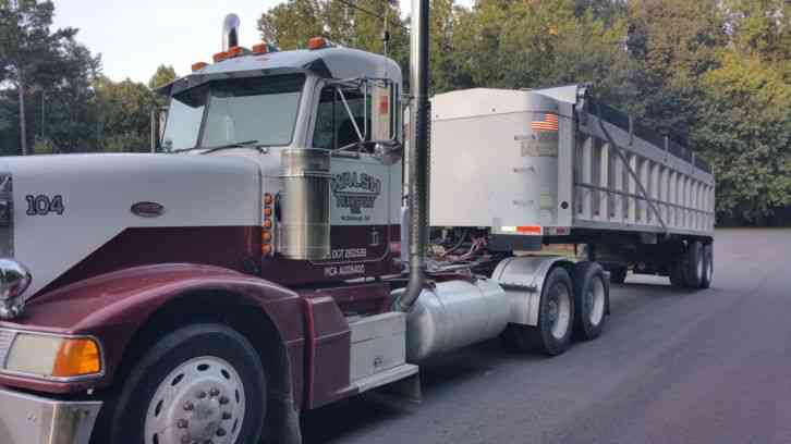 New Dump Trucks >> Peterbilt 377 (1997) : Daycab Semi Trucks