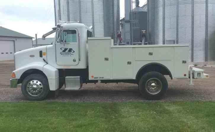 peterbilt 385 service truck 1997 utility service trucks rh jingletruck com Peterbilt Dash Panels Peterbilt 379 Flat Top