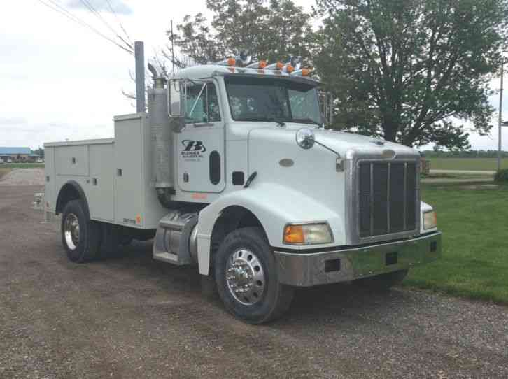 Led Lights For Semi Trucks >> Peterbilt 385 Service Truck (1997) : Utility / Service Trucks