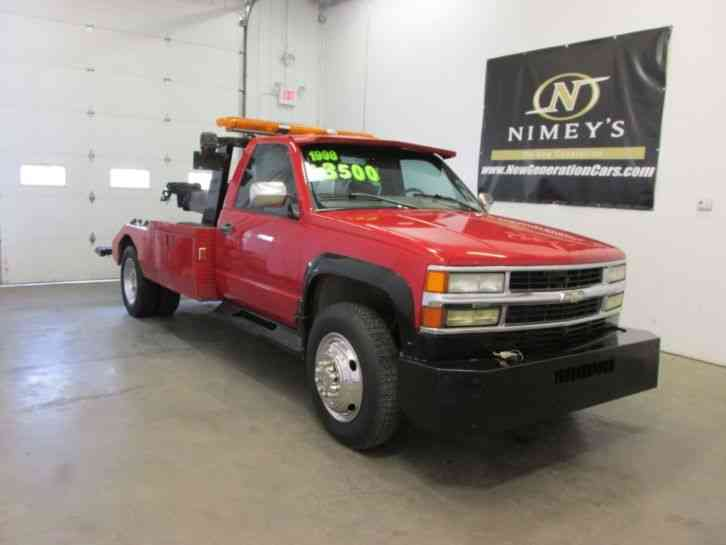 Chevrolet C K 3500 Hd Wrecker Tow Truck Wheel Lift 1998
