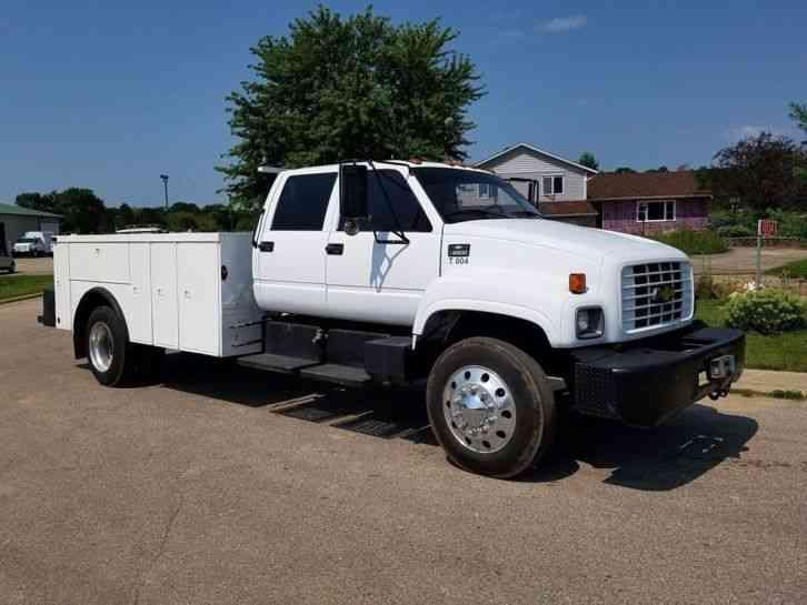 Chevrolet C6500 1998 Utility Service Trucks