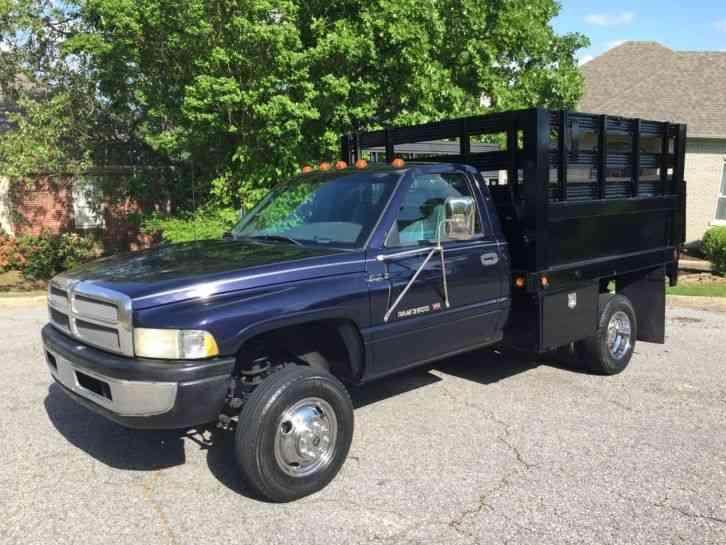 Dodge Ram 3500 5. 9 Magnum Stake Body Bed Lift (1998) : Utility / Service Trucks