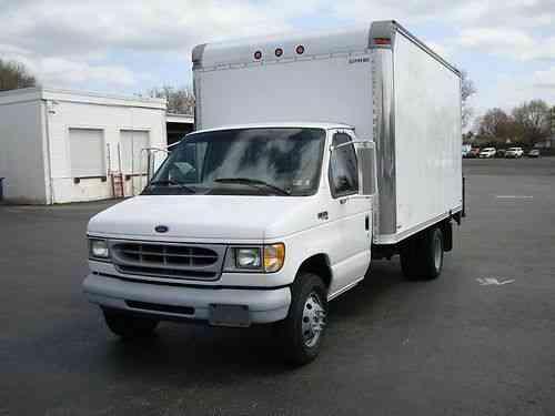 Ford E 350 1998 Van Box Trucks