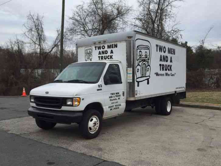 Ford E 350 1998 Van Box Trucks