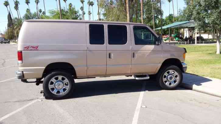 Ford E350 1998 Van Box Trucks