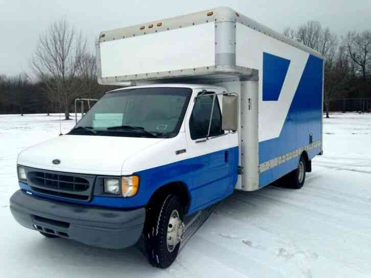 Ford 16ft Well Maintained E350 Ford Gas V 10 Box Van 1998 Van Box Trucks
