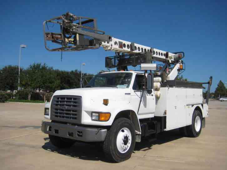 Ford f 750 1998 bucket boom trucks for Placer motors used cars
