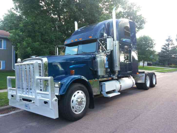 Fld 120 Freightliner Semi Truck : Freightliner fld classic sleeper semi trucks