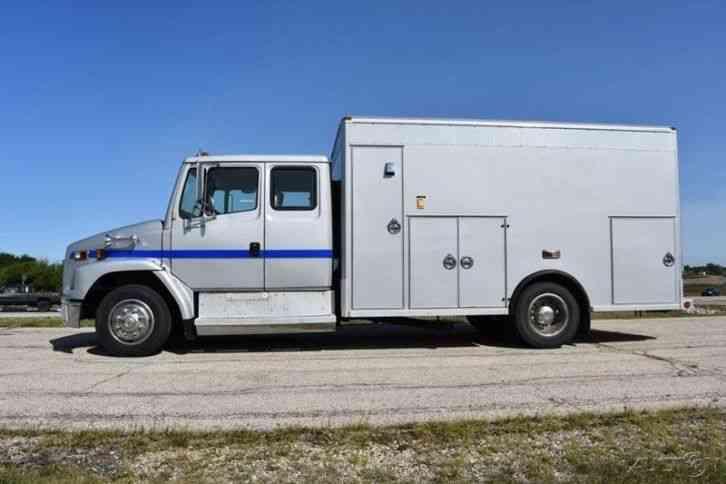 Freightliner Fl 60 Walk In Service Truck 1998 Utility